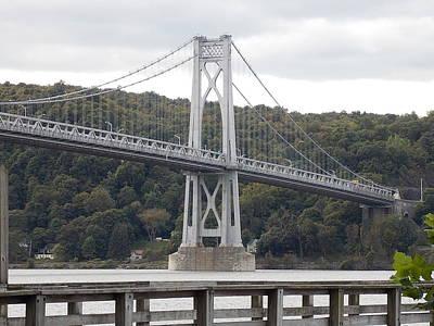 Mid Hudson Bridge Art Print