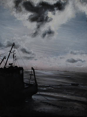 Painting - Mid-morn Across The Estuary by Sharon Stone