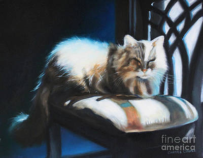 Painting - Mid-morning Basking by Charice Cooper