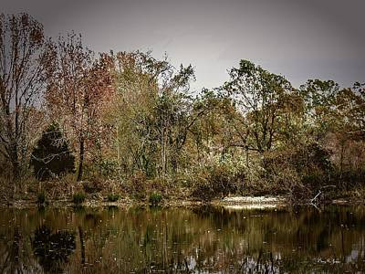 Autumn Photograph - Mid-morning Reflections by Barry Jones