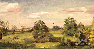 Painting - Mid West Countyside by Art By Tolpo Collection