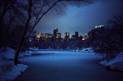 Photograph - Mid-winter Night by Cornelis Verwaal