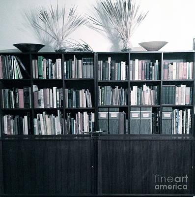 Midcentury Modern Bookcase Fade Original