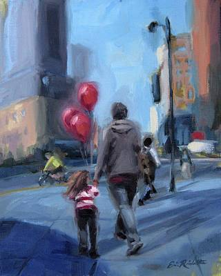 Painting - Midday Crossing by Erin Rickelton