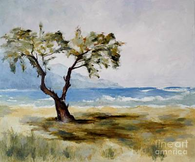 Painting - Midday On Creta by Karina Plachetka