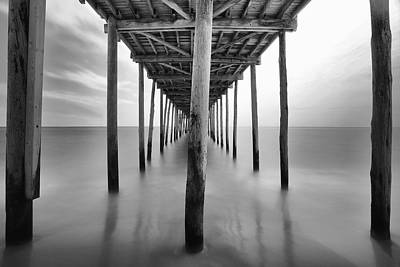 Midday Under The Pier Art Print