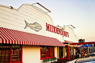 Middendorf's Art Print by Scott Pellegrin