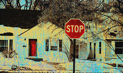 Home In The Midwest Art Print by Susan Stone