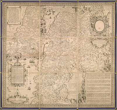 Cartography Photograph - Middle East by British Library