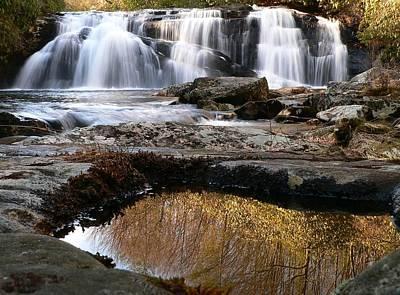 Art Print featuring the photograph Middle Falls On Big Snowbird Creek by Doug McPherson