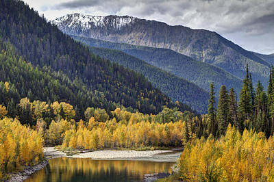 Middle Fork Brillance  Art Print by Mark Kiver
