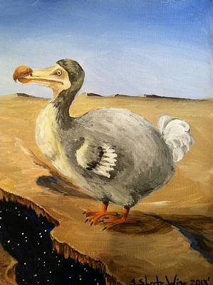 Dodo Bird Painting - Middle Income by Sandra Scheetz-Wise