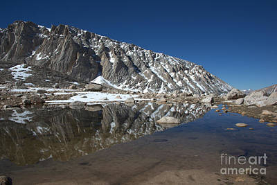 Middle Lake Reflections Art Print