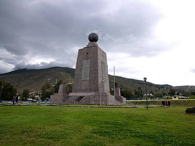 Aspiration Photograph - Middle Of The World Monument, Mitad Del by Panoramic Images
