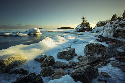 Gichigami Photograph - Middlebrun Bay Sunset II by Jakub Sisak