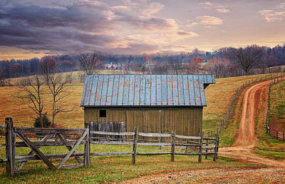 Middleburg Virginia Countryside Art Print