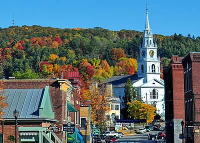 Middlebury Photograph - Middlebury Vermont by Tony Ambrosio