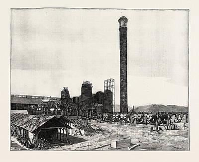 Middlesborough Kentucky The Watts Syndicate Iron Works Usa Art Print