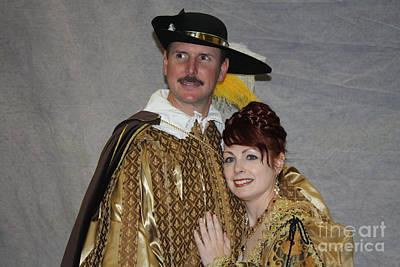 Photograph - Midevil Couple by John Telfer