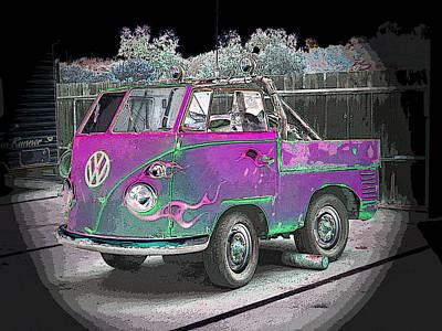 Photograph - Midget Volkswagon by Dan Townsend