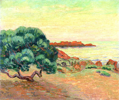 Midi Landscape Art Print by Jean Baptiste Armand Guillaumin
