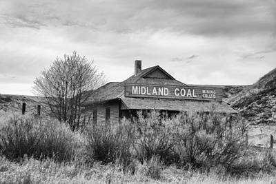 Photograph - Midland Coal Mining Co. by Guy Whiteley