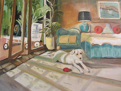 Painting - Midmorning Nap by Dody Rogers
