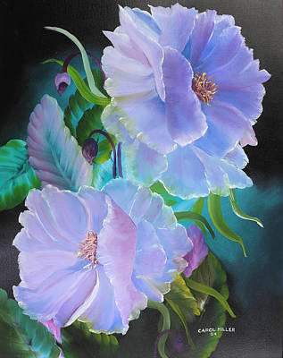Painting - Midnight Beauty by Carol L Miller