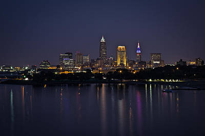 Photograph - Midnight Blue In Cleveland by Dale Kincaid