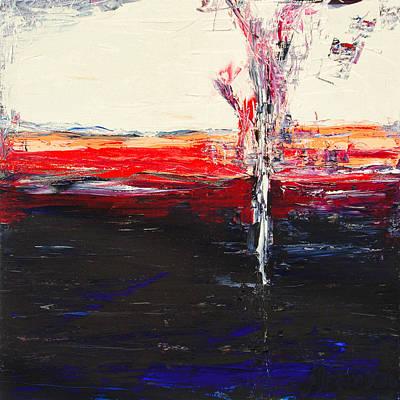 Painting - Midnight Dive by Alexandra Jordankova
