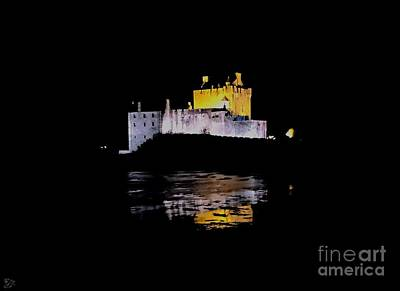 Photograph - Midnight Fortress by Andy Heavens