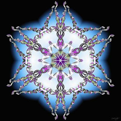 Digital Art - Midnight Galaxy IIi by Derek Gedney