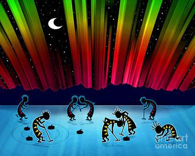 Sweeps Digital Art - Midnight Game by Chris Rhynas