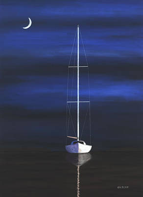 Pastel - Midnight by George Burr