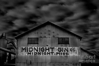Photograph - Midnight Gin Company Midnight Mississippi by T Lowry Wilson