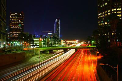 Midnight In Los Angeles Original by Tom Dupee