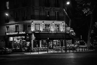 Photograph - Midnight In Paris by Ian Good
