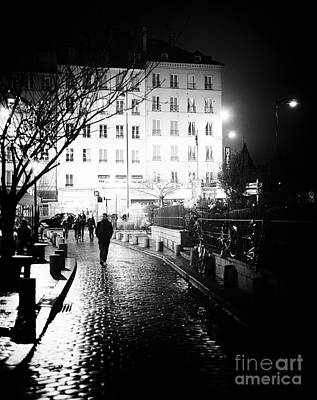 Photograph - Midnight In Paris by John Rizzuto