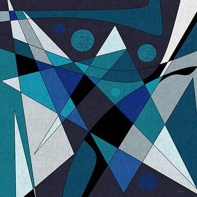 Abstract Digital Digital Art - Midnight Jazz by Val Arie