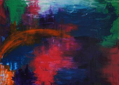 Art Print featuring the painting Midnight by Kristine Bogdanovich