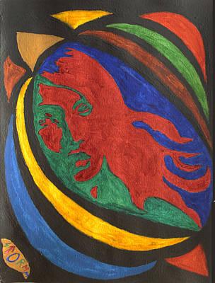 Sci Fi Painting - Lady Midnight  by Stormm Bradshaw