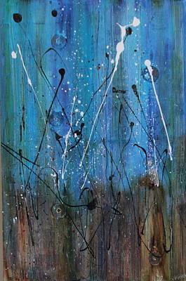 Starry Nights Art Print by Lauren Petit