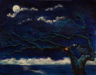 Painting - Midnight Magic by Susan Culver