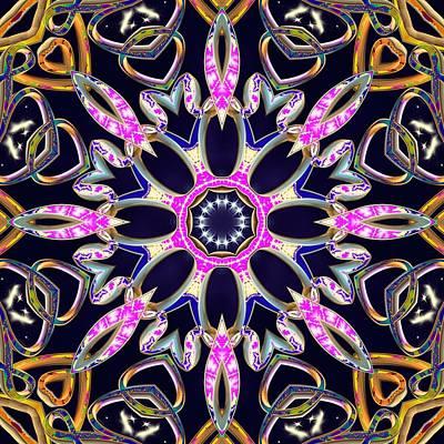 Digital Art - Midnight Magnetism by Derek Gedney
