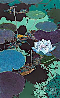 Midnight Moonglow Art Print by Allan P Friedlander