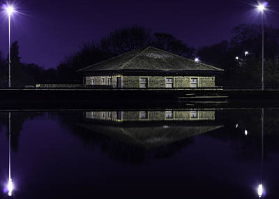Photograph - Midnight Reflections by Nick Field