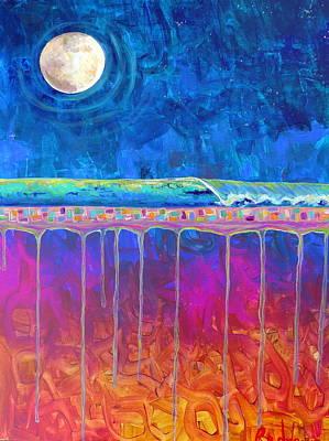 Midnight Run Art Print by Dawn Gray Moraga