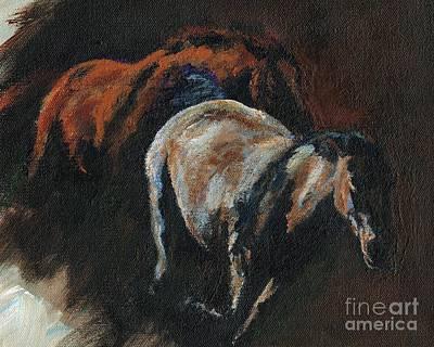 Painting - Midnight Run by Frances Marino