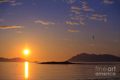 Photograph - Midnight Sun Norway by Babak Tafreshi
