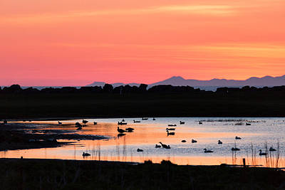 Midnight Sun, Reykjavik, Iceland Art Print by Panoramic Images